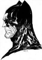 Batman face by GleBik