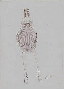Fashion Sketch 03 by my-beret-is-red