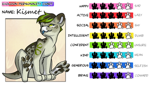Kismet Personality Chart by Ascynd