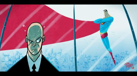 SUPERMEN and LEX by themico