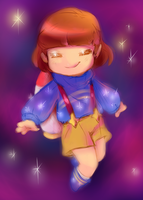 Frisk From Outertale by thegreatrouge