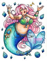 Mermay Day1 - Chubby by Geminine-nyan