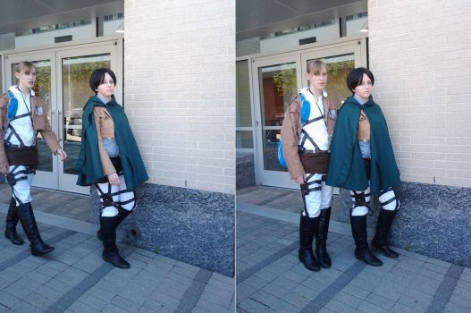 Survey Corps by HuntressZaradyna