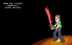 Firesword Jimmy by JPurcell