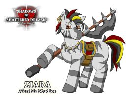Ziara and Death Dealer by Sword-of-Akasha