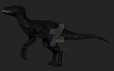 Indoraptor conceptart by Wolfhooligans