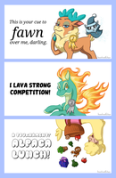 Them's Fightin' Herds - Mug Designs by haselwoelfchen