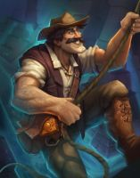 Reno Jackson - Hearthstone League of Explorers by PlanK-69