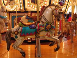 Carousel Horse Steed by FantasyStock