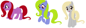 1 Point Fluttershy Recolor Adopts [OPEN!!!] by TheLondonJamJar