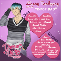Zhang TaeHyung   [ Dadbook ] | Application by sparkvagabond