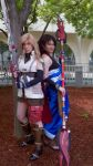 Lightning and Fang by lithele