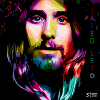 Jared Leto in WPAP by AECE7