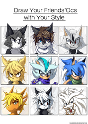 Draw your friends' Ocs with Your Style by VagabondWolves