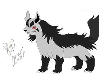 Mightyena by TaunyPelt