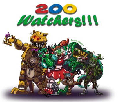 200 Watchers!! by Rile-Reptile