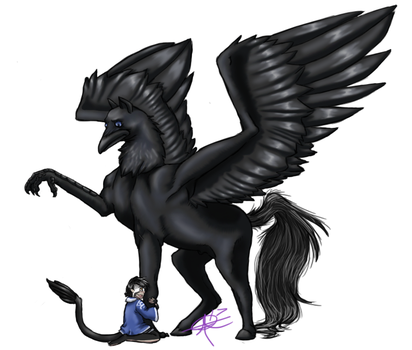 My Friend the Hippogriff by MistressVixen
