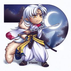Sesshomaru SD by Tiamate