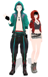[MMD] Outfit DL by UnluckyCandyFox