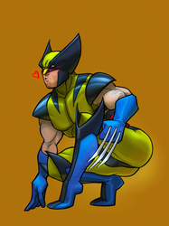Wolverine by pretty-cool-huh