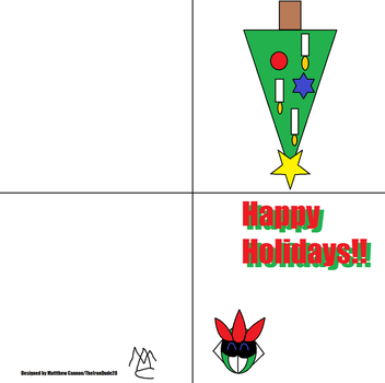 Holiday card by TheIronDude28