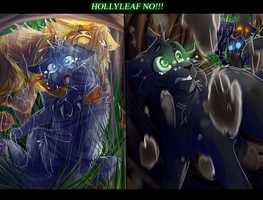 Hollyleaf, No!! (Warrior Cats) by WarriorCat3042