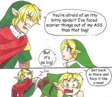 Past Hero Link is Disappoint: Part 3 by hopelessromantic721