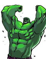 HULK SMASH by santivill
