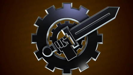 Soldiers of Justice animated logo by thepixelsmith