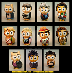 Doctor Whoooos set by EatToast