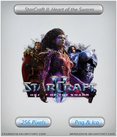 StarCraft 2: Heart of the Swarm - Icon 2 by Crussong