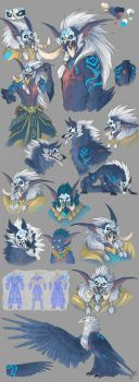 Warcraft_shaman_concepts by Kerneinheit