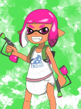Short haired squiddy by BMAN44