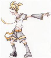 .Len Kagamine - Love is War. by BrittanyWillows