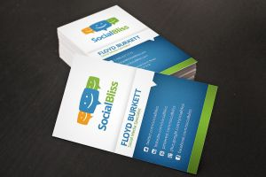 Social Media Business Card by xstortionist