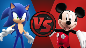 CFC|Game Sonic vs. Mickey Mouse by Vex2001