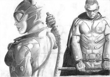 Batman Arkham City by renownedwarrior