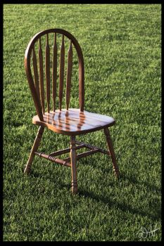 Chair in a Sunny Lawn by PenguinOfRohan