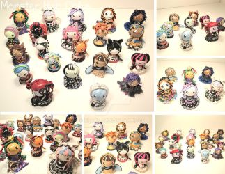 Monster High Chibis by xRcks