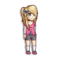 Minecraft Avatar - Korri Pocky Chibi by GoldSolace