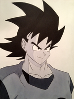 Goku! by XavDrawsThings