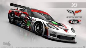 rSeat Racing Team - Corvette C6-R GT1 2013 by Kinpixed
