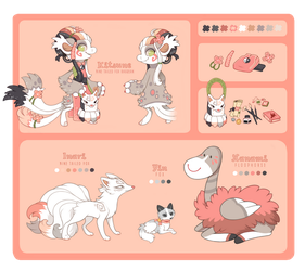 Kitsune Reference by CometShine
