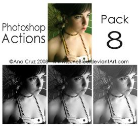 photoshop Actions - Pack 8 by Lune-Tutorials