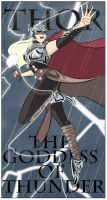 THOR THE GODDESS OF THUNDER by JohannLacrosaz