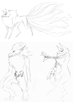 New Species - Sketchdump 4 by Suspiria-Ru