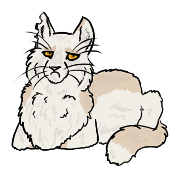 Disapproving Cat-Loaf -raffle- by Songdog-StrayFang