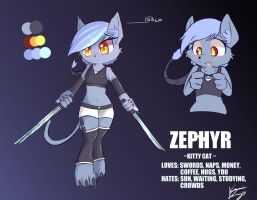 Adoptable - Zephyr by kawaiipony2