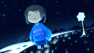 Blue :Undertale: by YasahiroYoruki