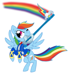 Kingdom Hearts Rainbow Dash by Electric-Mongoose